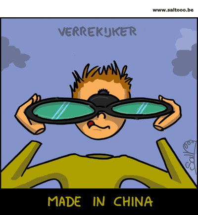 Verrekijker made in China