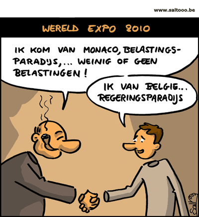 Belgie heeft extra troef op expo 2010 in China