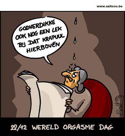 22 december is wereld orgasme dag